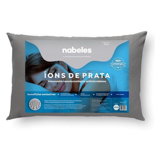Travesseiro Nabeles Ions de Prata