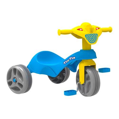 Triciclo Infantil Bandeirante 684 - Tico Tico Azul