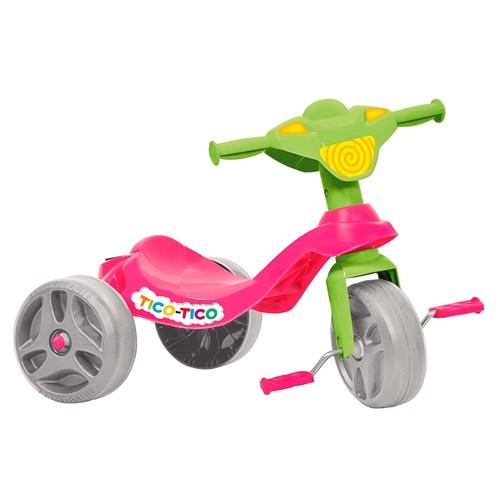 Triciclo Tico Tico Rosa 652 - Bandeirante
