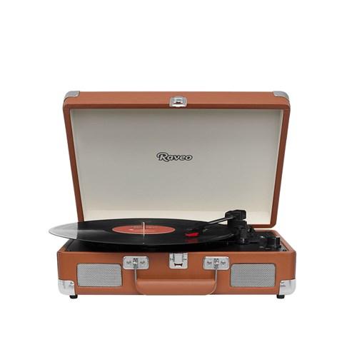 Vitrola Raveo Sonetto Chrome - Disco Vinil/USB/Bluetooth